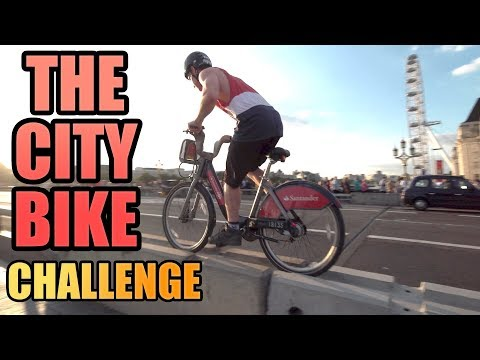 THE CITY BIKE CHALLENGE *LONDON*