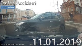 Подборка аварий и дорожных происшествий за 11.01.2019 (ДТП, Аварии, ЧП, Traffic Accident)