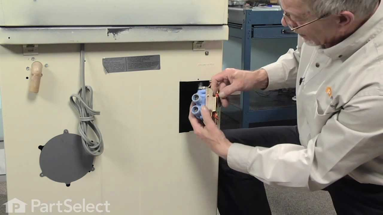 Replacing your Maytag Washer Water Inlet Valve