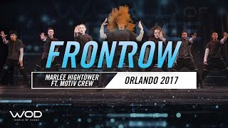 Marlee Hightower ft. Motiv Crew | FrontRow | World of Dance Orlando 2017 | #WODFL17