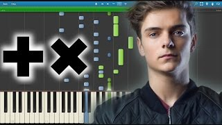 Martin Garrix - Animals (Poison) Piano Intro Version (@ADE 2015)