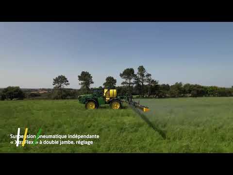 Vidéo pulvérisateur John Deere R4150i