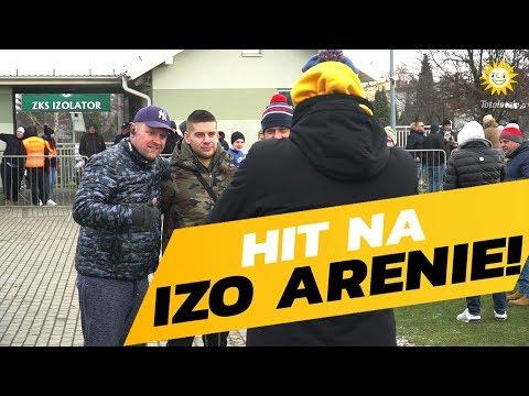 Wąs i Koks w Boguchwale, czyli kulisy meczu Stalówki z Lechem Poznań [WIDEO]