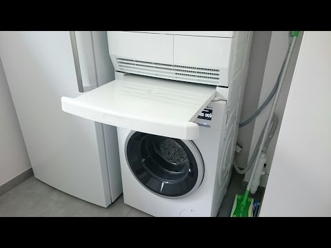 Wpro SKS101 Verbindungsrahmen Zwischenrahmen Waschmaschine Trockner universal übereinander