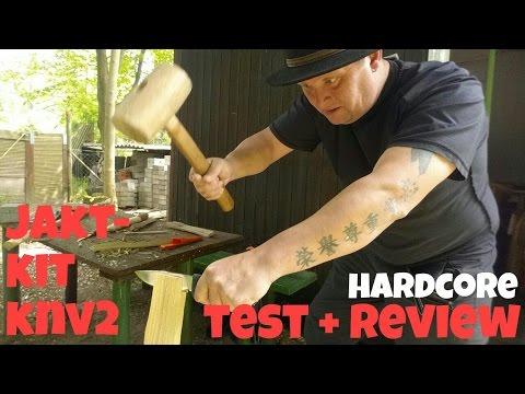 ✔JAKTKIT KNV2 Review + Test // KnifePornPartyTime! ;)  || Jagd- u. Outdoormesser