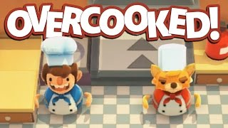 Overcooked Gameplay - Too Many Cooks! - Let's Play Overcooked Part 2