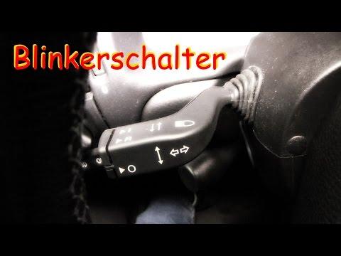Blinkerschalter wechseln am Vectra B