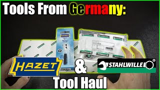 Tools From Germany: Stahlwille & Hazet Tool Haul