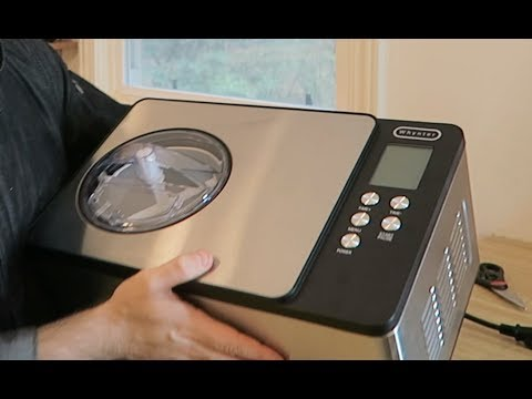 Whynter Ice Cream Maker Machine Unboxing & Review - Plant Based Home Chef Jeremiah