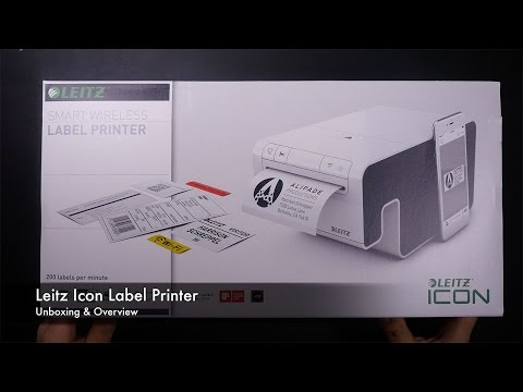 Unboxing & Overview Leitz Icon Etikettendrucker
