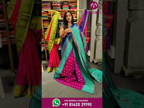"""<p style=""""color: red"""">Video : </p>GAWDAL PATTU SAREES FROM MUGDHA FOR ORDERS 8142029190 2021-08-04"""