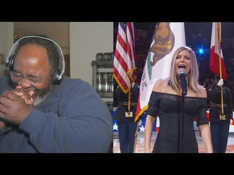 Dad Reacts to Fergie's National Anthem Draws Criticism!