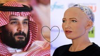 Sophia is now a citizen of Saudi Arabia