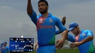 EA CRICKET 2017 - Hardik pandya take 6 WICKETS in an over