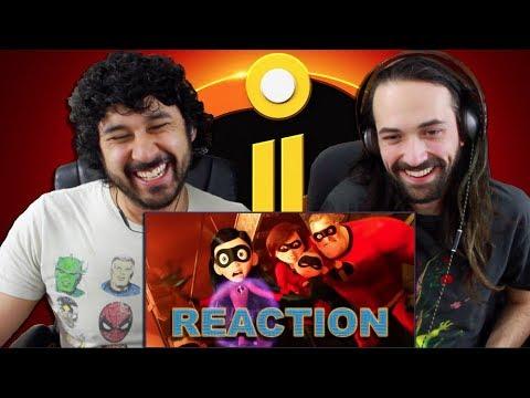 INCREDIBLES 2 Official TRAILER REACTION!!!