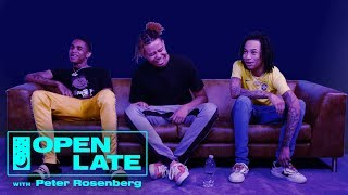 YBN Nahmir, YBN Cordae And YBN Almighty Jay Join Open Late | Open Late With Peter Rosenberg