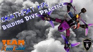 High Energy Building Dives | Pre-Virus FPV Quadcopter Rip Session | Runcam Racer 2