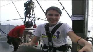 preview picture of video 'World's Highest Bungee Jump - Claudia Puccetti'
