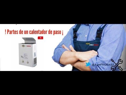 PARTES DE UN CALENTADOR (water heater Parts)