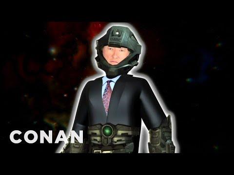 Conan dabuje postavu ze hry Halo 4