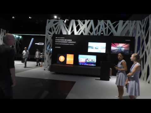 GRUNDIG 4K UHD Neuheiten auf der IFA 2016 (LCD + OLED TV)