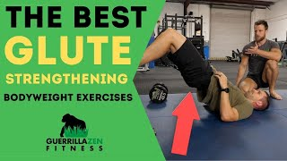 Top 10 Glute Exercises   Bodyweight Glute Strengthening