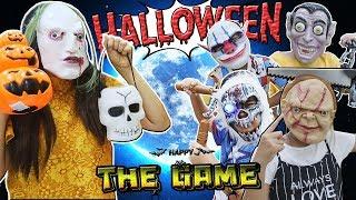 ร้านป้าเม้า จอมเพี้ยน   ตอน. เกมส์นี้ต้องชนะ!! วันหน้ากากผี   Halloween Day Ghost mask