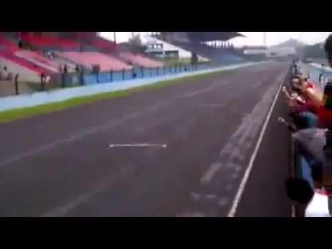 Drag Race Motor Jupiter MX Hawadis VS Ninja 250 Top Speed Up