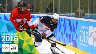Ice Hockey - USA Win Mens Gold | Lillehammer 2016 Youth Olympic Games
