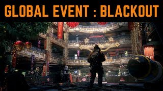 THE DIVISION 1.8.1 - GLOBAL EVENT BLACKOUT!