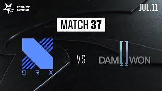 DRX vs DWG | Match37 H/L 07.11 | 2020 LCK Summer