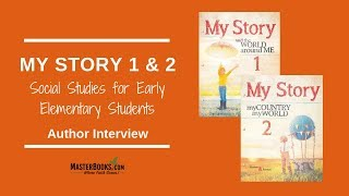 My Story Social Studies Homeschool Curriculum For Early Elementary Students // Author Interview