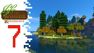 Life In The Woods: Renaissance - EP07 - Going Deeper (Minecraft)