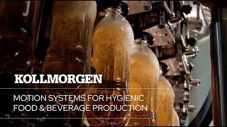 Hijyenik yiyecek ve içecek üretimi için hareket sistemleri