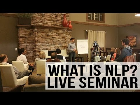 FREE NLP Training - Live Seminar with Demonstrations - YouTube