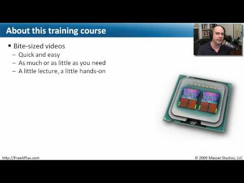 Professor Messer's Free CompTIA A+ Training Course Overview ...