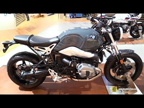 2017 BMW R Nine T Pure - Walkaround - Debut at 2016 EICMA Milan