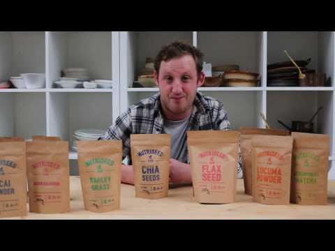 Chia Seeds, Raw, Organic, Nutriseed (250g)