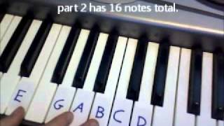 the exorcist theme song piano instruction tutorial