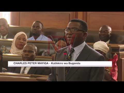 OKULWANYISA ENGUZI: Museveni atandikire ku banene mu Gav't - Katikkiro