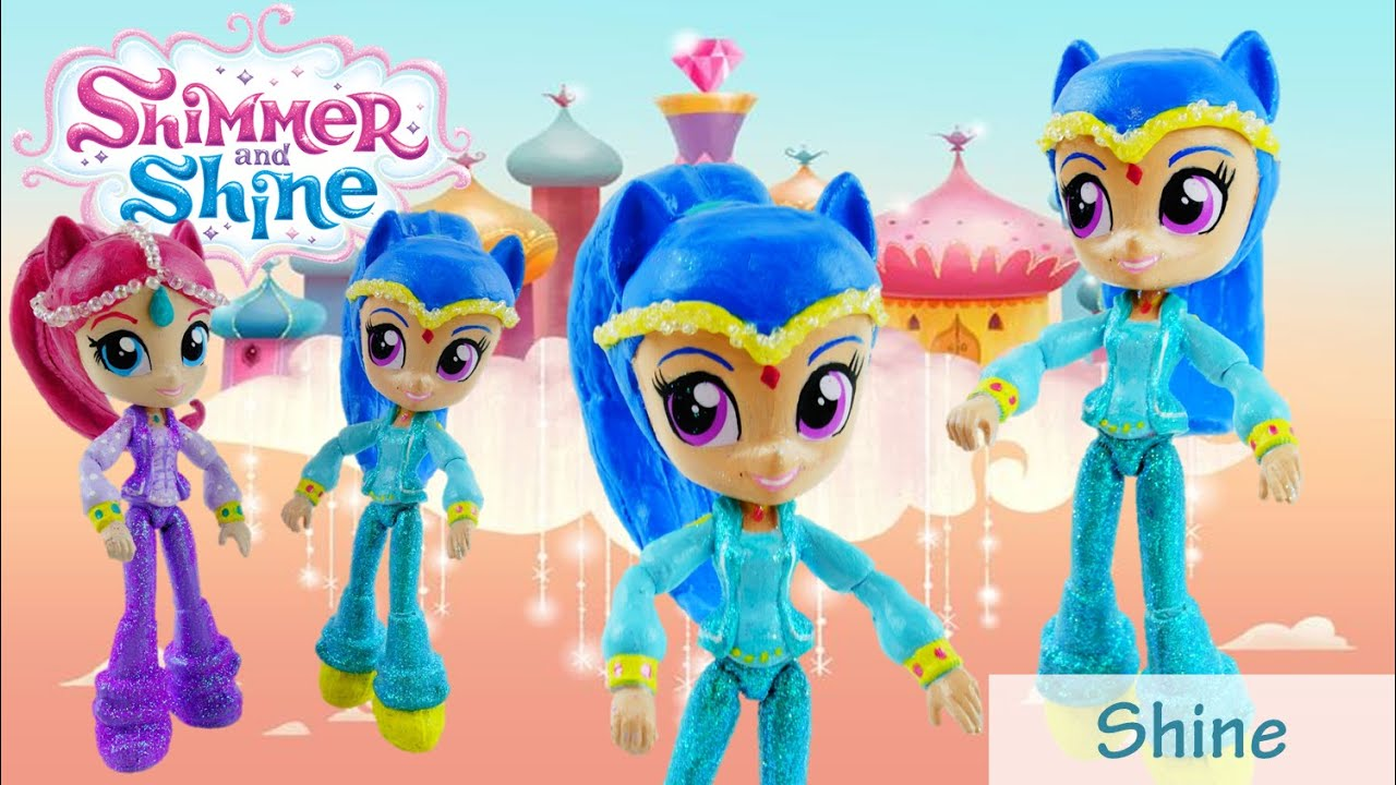 SHINE Custom Doll - How to make Shimmer and Shine Toys from MLP Equestria Girls