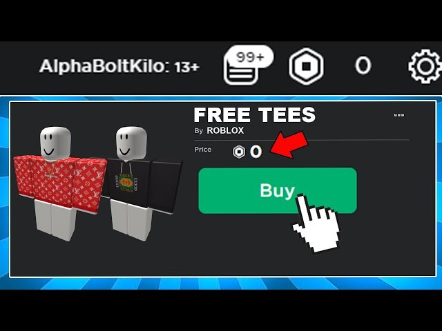 How To Get Free Clothing In Roblox