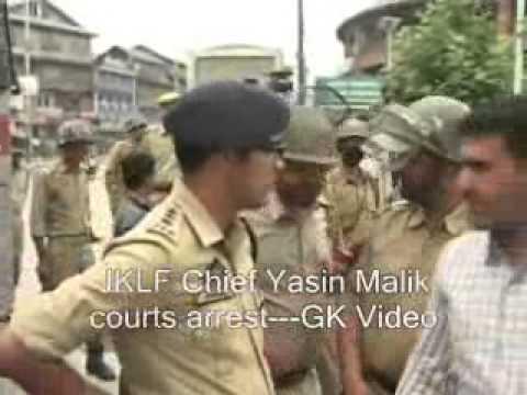Yasin Malik courts arrest