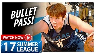 Ding Yanyuhang Full Highlights vs Thunder (2017.07.05) Summer League - 10 Pts, NICE PLAYS!