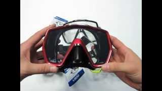 Маска для дайвинга TUSA Freedom HD черная от компании МагазинCalipso dive shop - видео