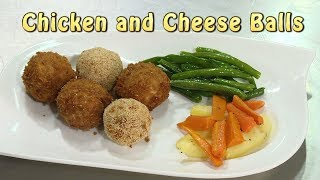 Chicken and Cheese Balls - Chicken Fried with Cheese Center