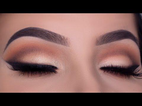 The Perfect Bridal Eye Makeup Tutorial    Wedding Drugstore Makeup