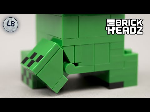 Vidéo LEGO BrickHeadz 41612 : Steve & Creeper (Minecraft)