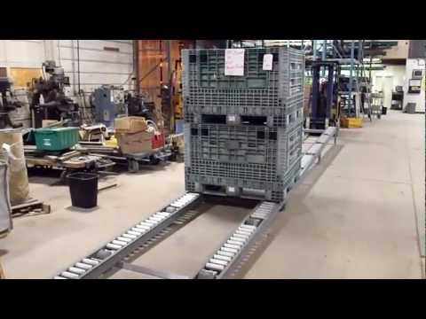Pallet Flow Rail Movie