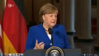 Merkel Trump das Deutschland wiedervereint sein kann !!!!